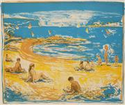 Sale 8658A - Lot 5092 - Paul Delprat (1942 - ) - Summer Romp, 1986 57 x 68cm