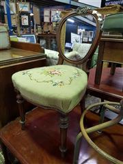 Sale 8657 - Lot 1069 - Walnut Dining Chair
