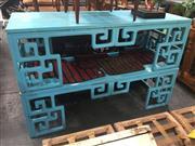 Sale 8822 - Lot 1727 - Pair of Aqua Oriental Tables