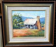 Sale 9061 - Lot 2005 - Brian Agnew; Old timer Capertee oil on board; 40 x 45 cm; singed lower right