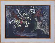 Sale 8374 - Lot 576 - Desiderius Orban (1884 - 1986) - Still Life 55 x 75cm