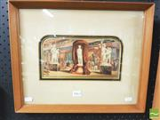 Sale 8413T - Lot 2062 - After George Baxter (1804 - 1867) - Great Exhibition of 1854 12 x 24cm