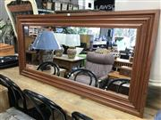 Sale 8822 - Lot 1710 - Timber Framed Mirror