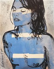 Sale 9009A - Lot 5082 - David Bromley (1960 - ) - Belinda 59 x 48 cm (frame: 72 x 60 x 4 cm)