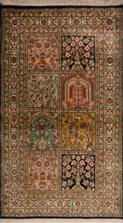 Sale 8447C - Lot 12 - Kashmiri Silk 134cm x 79cm