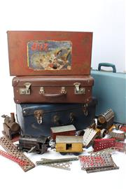 Sale 8739 - Lot 39 - Cased Sets And Tin of Buz the Builder & Maccano