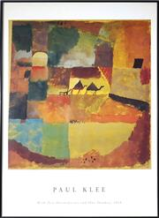 Sale 8964 - Lot 2037 - Paul Klee Poster Two Dromedaries & Donkey 92 x 62cm (frame)