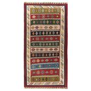 Sale 8918C - Lot 32 - Persian Nomadic Qashgai Kelim Carpet, 200x300cm, Handspun Wool
