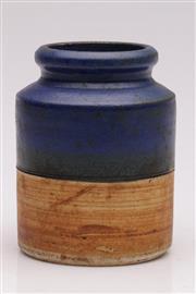 Sale 9052 - Lot 182 - Derek Smith Blackfriars Studio Pottery Vase (H: 14cm)
