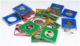 Sale 9156 - Lot 58 - A collection of Isle of Man Crowns & Medals together with other World crowns