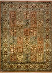 Sale 8447C - Lot 13 - Kashmirir Silk 235cm x 172cm