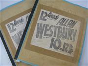 Sale 8450S - Lot 733 - Allan Westbury Scrapbooks (2)