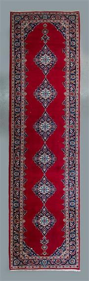 Sale 8472C - Lot 19 - Persian Kashan 380cm x 105cm