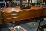 Sale 8550 - Lot 1013 - Superb Quality Beithcraft Teak Sideboard