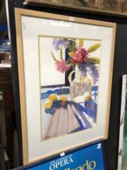 Sale 8807 - Lot 2094 - Sue OLoughlin - Still Life, watercolour