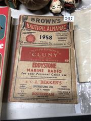 Sale 8819 - Lot 2417 - Browns Nautical Almanac 1958