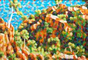 Sale 8839A - Lot 5042 - Stan de Teliga (1924 - 1998) - Outside Standley Chasm, N.T., 1988 92 x 132cm