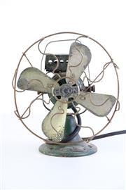 Sale 8963 - Lot 48 - Vintage Elcon Fan (H27cm)