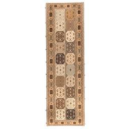 Sale 9124C - Lot 16 - Persian Sirjan Mixed Weave Rug, 90x300cm, Handspun Wool