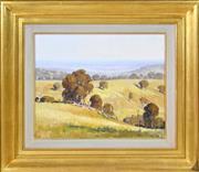 Sale 8394 - Lot 536 - Robert Johnson (1890 - 1964) - On Cassillis Station, 1929 29 x 36.5cm