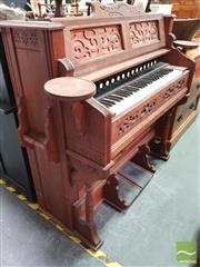 Sale 8424 - Lot 1093 - Timber Pump Organ
