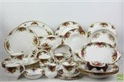 Sale 8481 - Lot 88 - Royal Albert 'Old Country' Roses Dinner Service