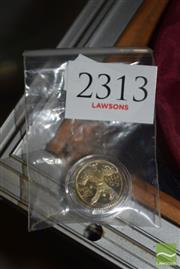 Sale 8509 - Lot 2313 - Gilt 50 Peso Coin Token