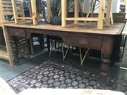 Sale 8676 - Lot 1365 - Timber Two Drawer Desk