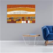 Sale 8808 - Lot 540 - Freda Warlpinni (1934 - 2003) - Jilamarra 97 x 64cm (stretched and ready to hang)