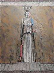 Sale 8867A - Lot 5038 - Carol Dance - The Civiliser 130 x 97cm