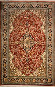 Sale 8447C - Lot 15 - Kashmiri Silk 147cm x 95cm