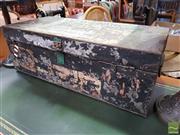 Sale 8480 - Lot 1038 - Metal Trunk