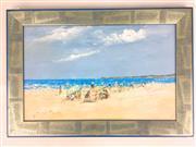 Sale 8649R - Lot 71 - Donald Fraser - Oil on Board (39 x 24.5cm)