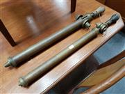 Sale 8741 - Lot 1030 - Pair of Vintage Brass Hand Pump Sprays