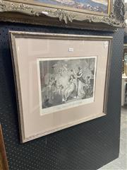 Sale 8932 - Lot 2048 - A C19th Engraving Le Toilette de Pysche