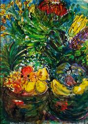 Sale 8990 - Lot 2059 - Angela Meyer (1970 - ) - Collective Chorus - Flowers 9, 1992 103 x 73.5 cm (frame: 117 x 86 x 4 cm)