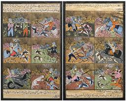 Sale 9193A - Lot 5086 - INDO-PERSIAN SCHOOL (2 works)