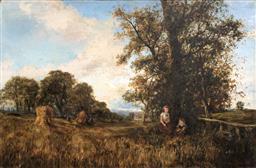 Sale 9245J - Lot 65 - George Boyle (British 1826-1899) - Surry Countryside