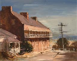 Sale 9252A - Lot 5078 - COLIN PARKER (1941 - ) The Doctors House, Windsor oil on board 39 x 49 cm (frame: 57 x 67 x 3 cm) signed lower left, titled verso