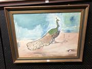 Sale 8807 - Lot 2104 - Signed Watercolour