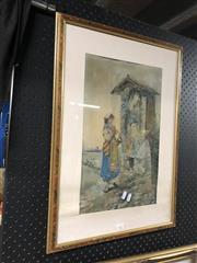 Sale 8811 - Lot 2077 - G. Fortensati - Watercolour - SLR