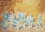 Sale 8847 - Lot 560 - Lionel Lindsay (1874 - 1961) - Garden Scene 27 x 36cm