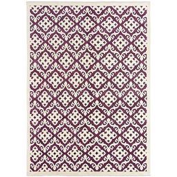 Sale 9124C - Lot 19 - India Taj Damask Design Carpet, 178x249cm, Bamboo Silk