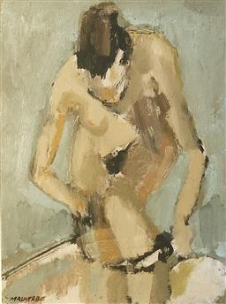 Sale 9142A - Lot 5059 - ROBERT MALHERBE (1965 - ) - Nude, 2000 23 x 30 cm (frame: 40 x 48.5 cm)