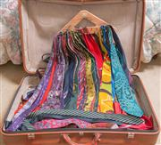 Sale 8375A - Lot 110 - A suitcase full of ties