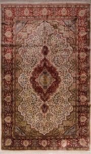 Sale 8447C - Lot 16 - Indian Silk & Wool 250cm x 150cm