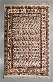 Sale 8480C - Lot 44 - Persian Machine Made Carpet 230cm x 150cm