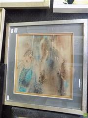 Sale 8561 - Lot 2031 - Fela Midaglia - Topless in Tuscany, 1977 29.5 x 32cm (frame size: 45 x 37cm)