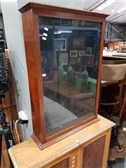 Sale 8740 - Lot 1047 - Glass Display Cabinet