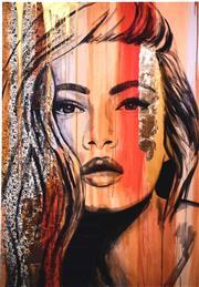 Sale 9072A - Lot 5059 - Kristie Stenning - Kookai 40 x 28 cm (frame: 67 x 53 cm)